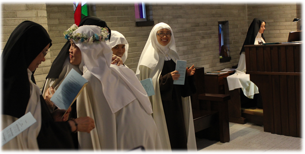 First Profession of Vows of Sister Maria : Carmelite Monastery